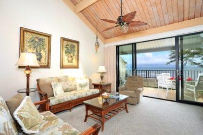 Maui 2 Bedroom Condo Rentals: Kahana Village Beachfront Villas
