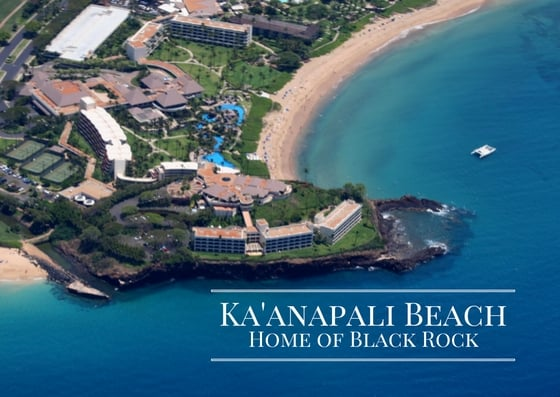 black rock the enchanting cliff of kaanapali beach